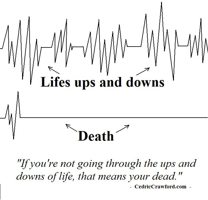 Ups And Downs Quote 7 Picture Quote #1