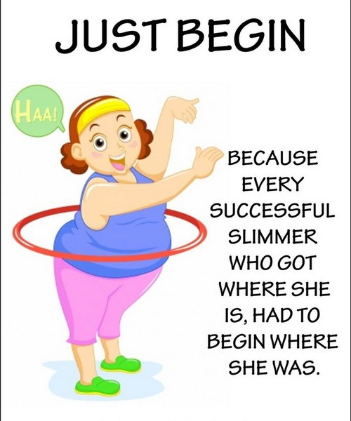 Fun Weight Loss Inspirational Quote 1 Picture Quote #1