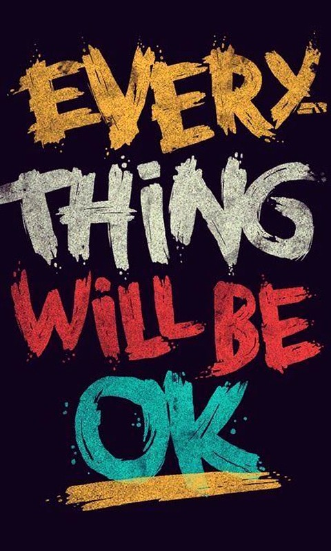 Nice Everything Will Be Okay Quote 7 Picture Quote #1