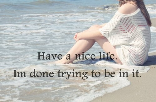 Have A Nice Life Quote 2 Picture Quote #1
