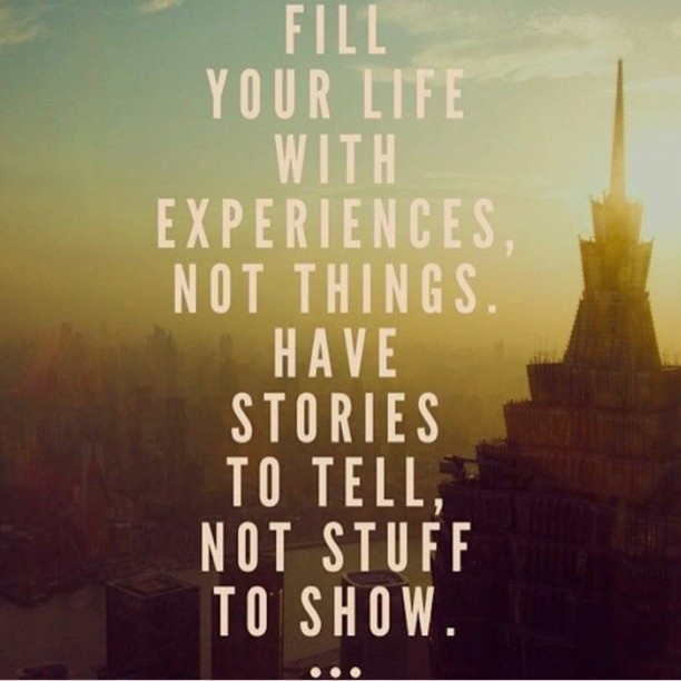 Life Experiences Quote 1 Picture Quote #1