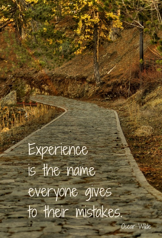Life Experiences Quote 2 Picture Quote #1