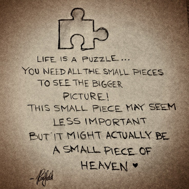 Puzzle Quotes | Puzzle Sayings | Puzzle Picture Quotes