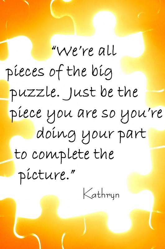 Puzzle Quote 7 Picture Quote #1