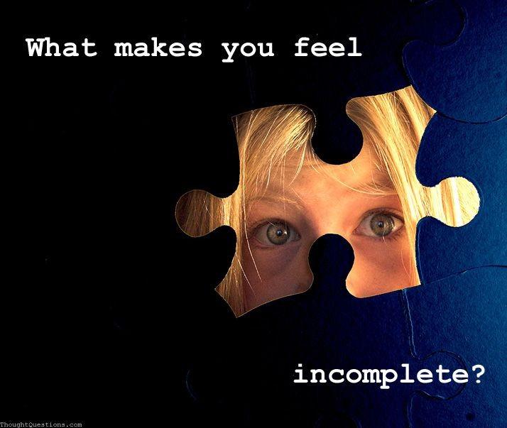 Incomplete Puzzle Quote 1 Picture Quote #1