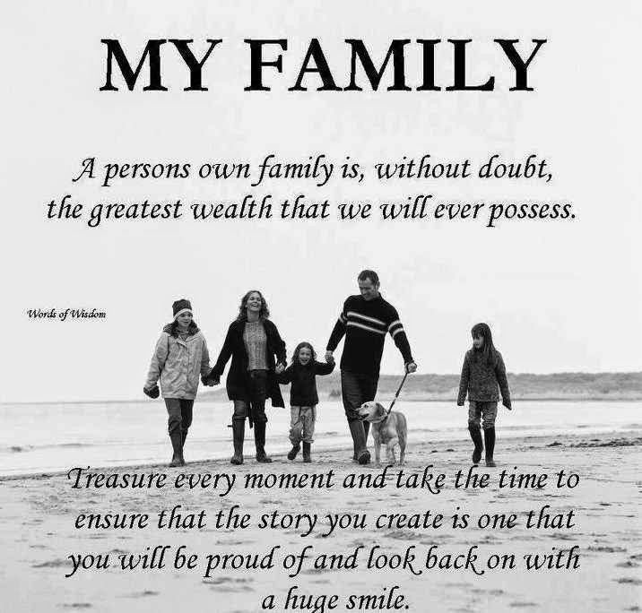 My Family Quote 1 Picture Quote #1