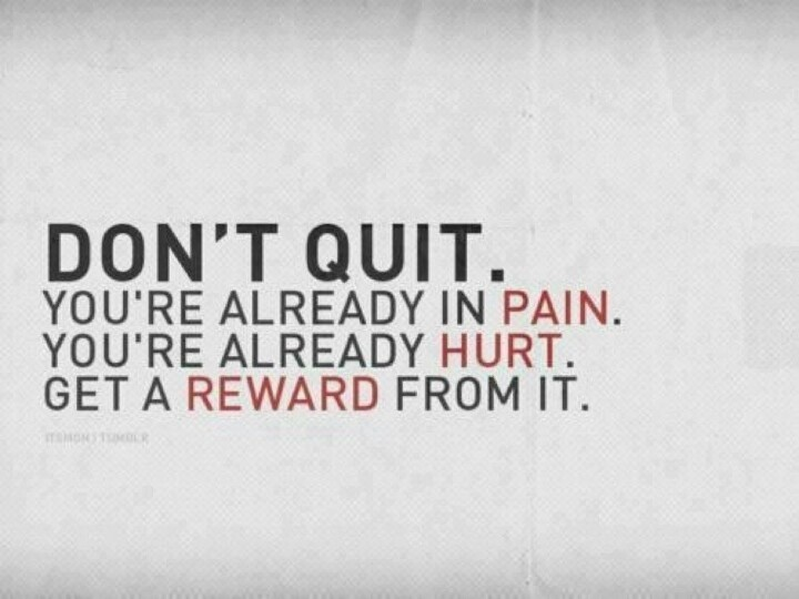 No Pain No Gain Quote 6 Picture Quote #1