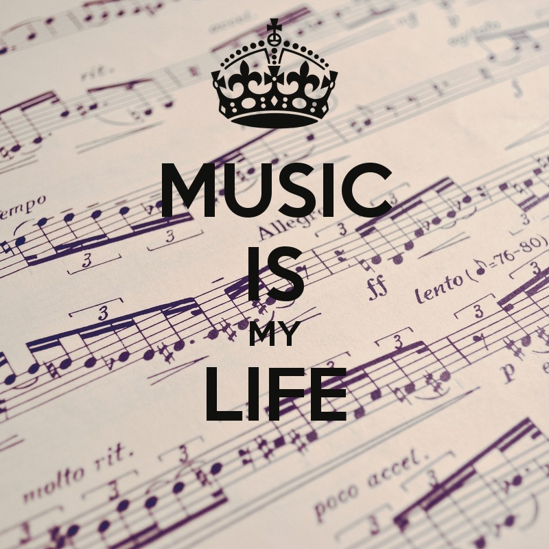 Music Is My Life Quote 1 Picture Quote #1