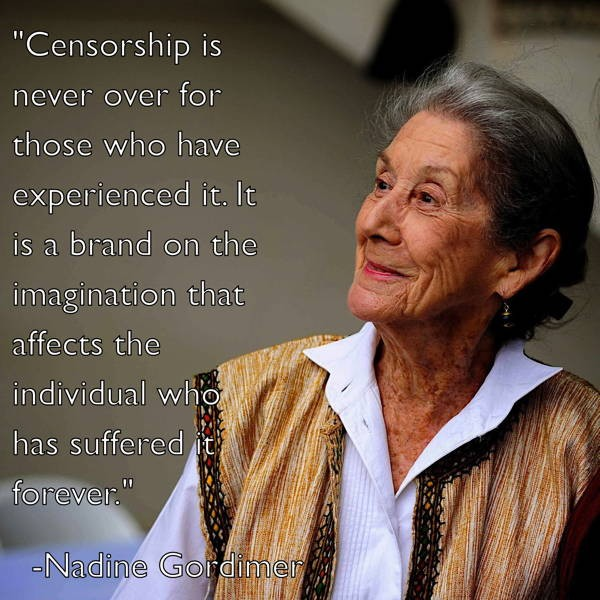 Censorship Quote 3 Picture Quote #1