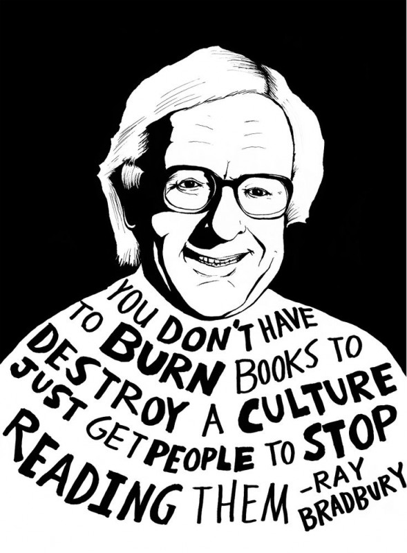 Ray Bradbury Censorship Quote 1 Picture Quote #1