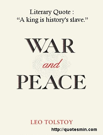 War And Peace Quote 2 Picture Quote #1