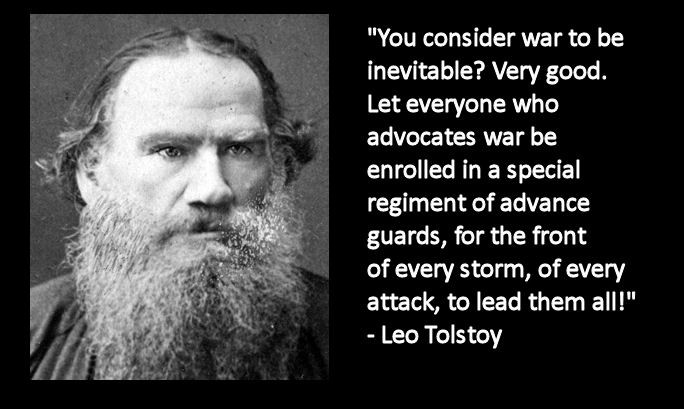 Tolstoy War And Peace Quote 1 Picture Quote #1
