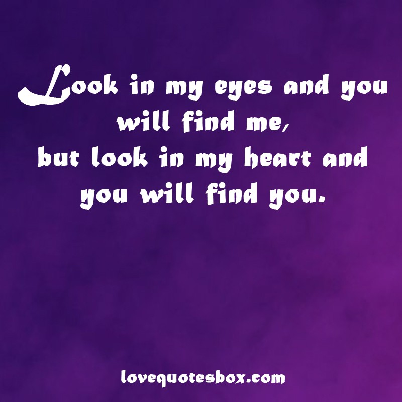 Short Quotes Eyes: Look Into My Eyes Quotes & Sayings