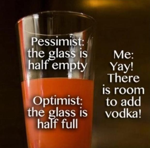 Glass Half Empty Quote 3 Picture Quote #1