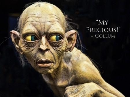 Gollum Precious Quote 1 Picture Quote #1