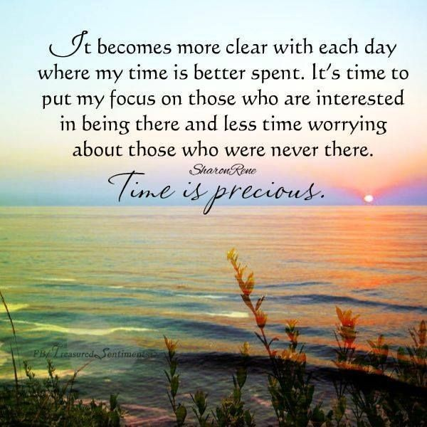 Time Is Precious Quote 2 Picture Quote #1