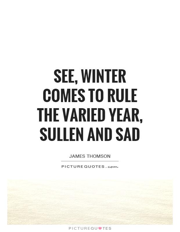 sad winter quotes