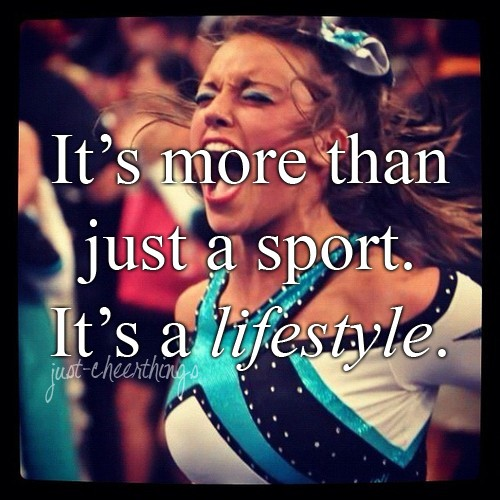 Cheerleader Quote 4 Picture Quote #1