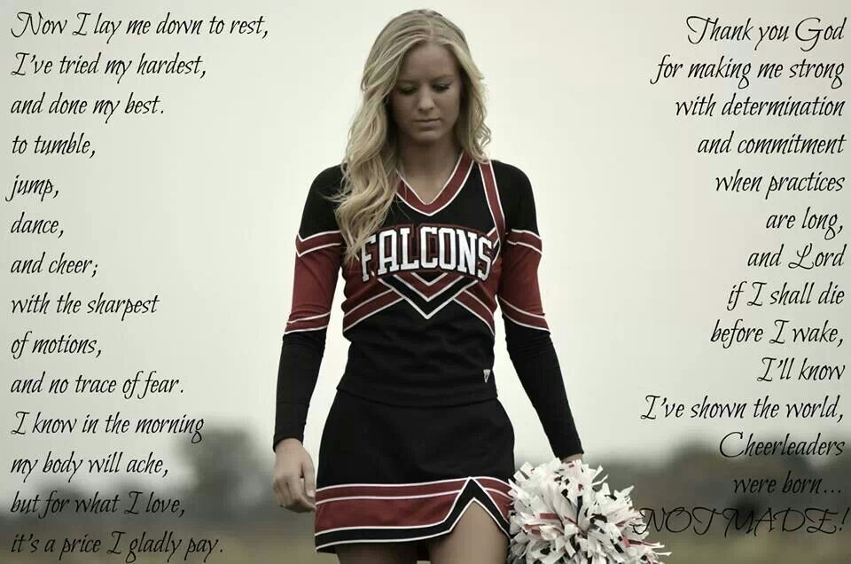Cheerleader Quote 5 Picture Quote #1
