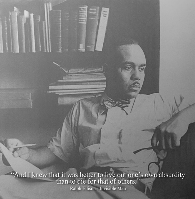a literary analysis of the metaphors in invisible man by ralph ellison