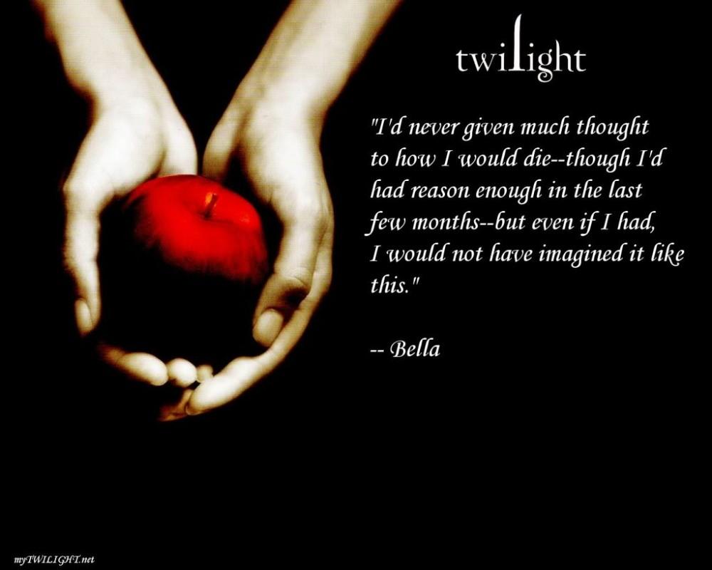 Twilight Movie Quote 6 Picture Quote #1