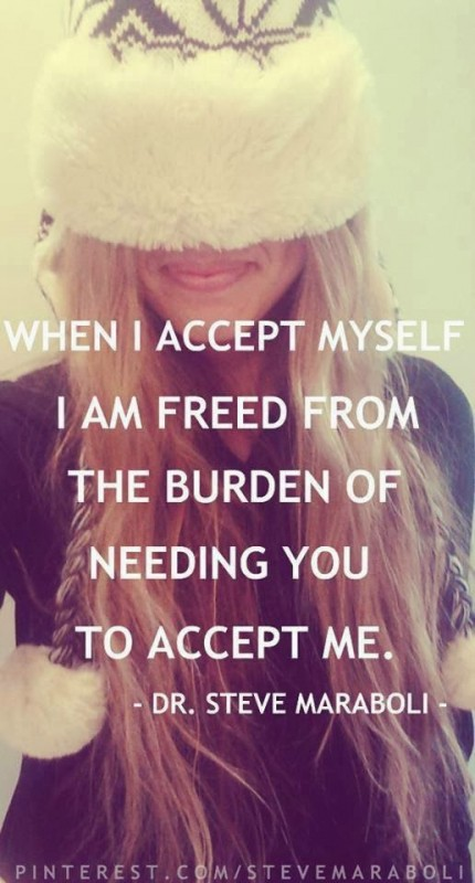 Freedeom Being Myself Quote 1 Picture Quote #1