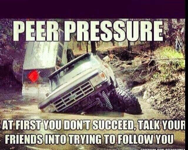 Funny Peer Pressure Quote 2 Picture Quote #1