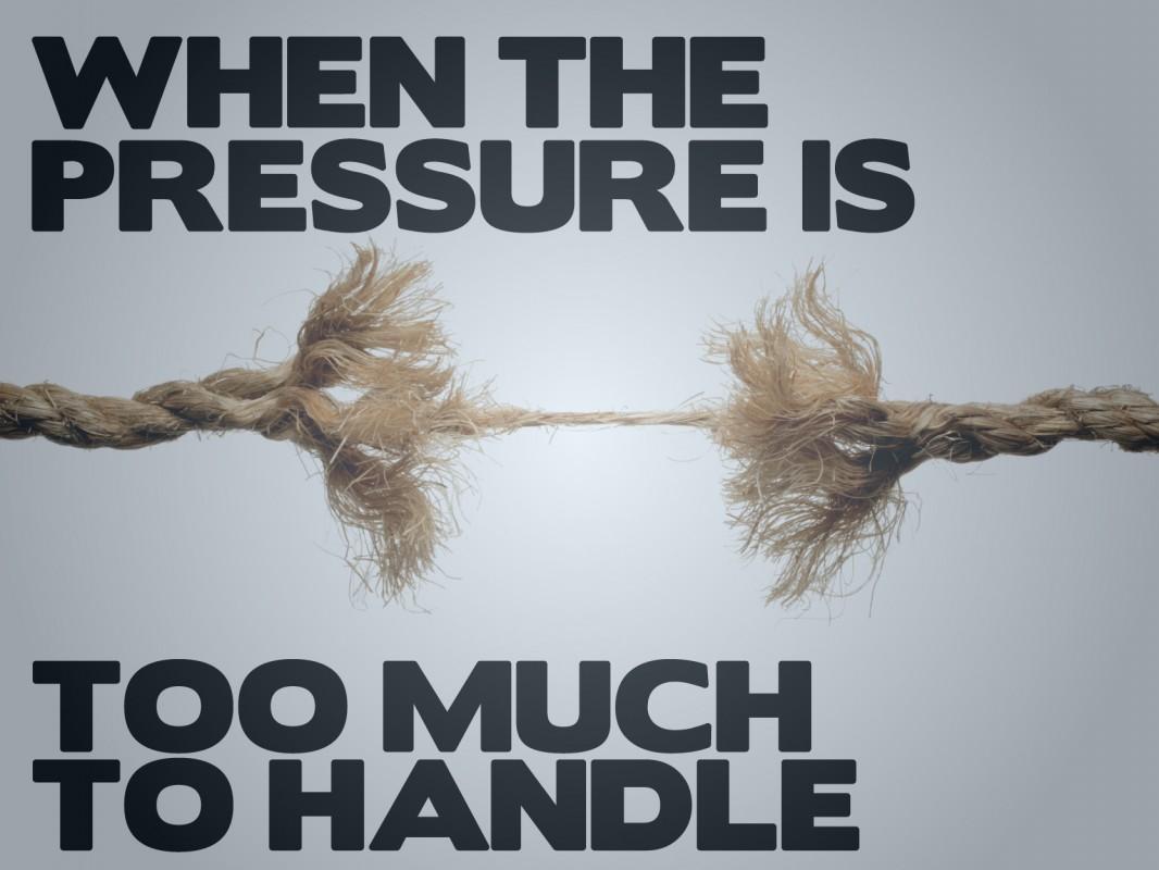 Handling Pressure Quote 1 Picture Quote #1