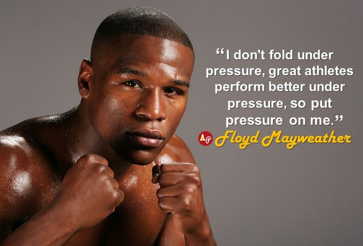 Being Under Pressure Quote 1 Picture Quote #1
