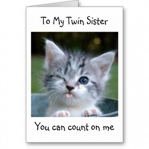 Twin Sister Quote 2 Picture Quote #1