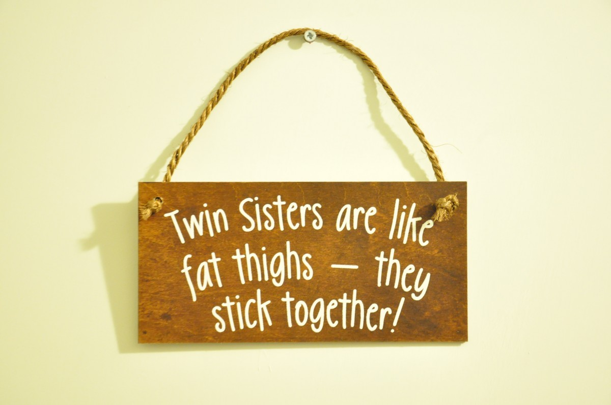 Twin Sister Quote 5 Picture Quote #1