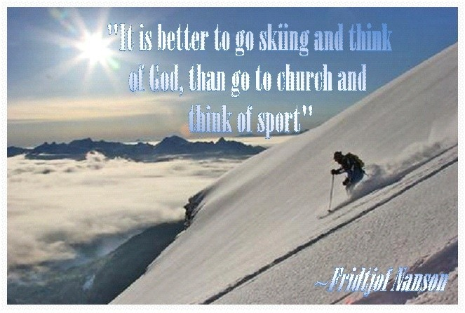 funny ski quotes