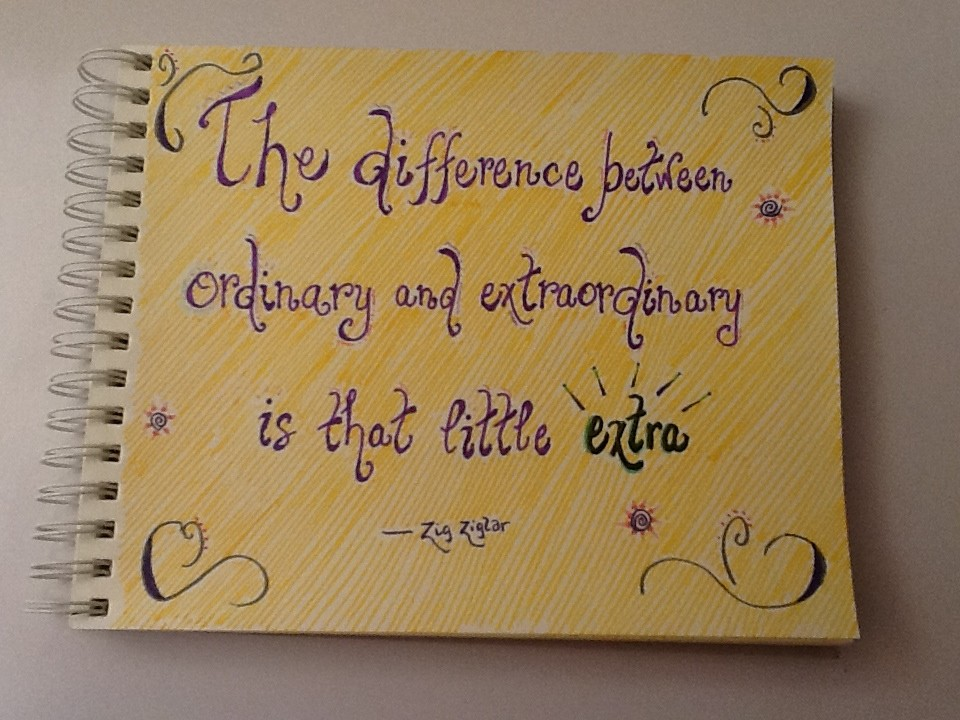 Be Extraordinary Quote 2 Picture Quote #1