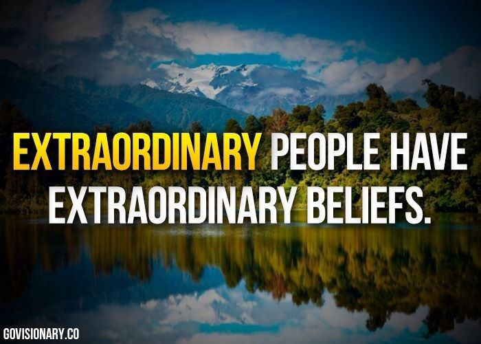Be Extraordinary Quote 3 Picture Quote #1