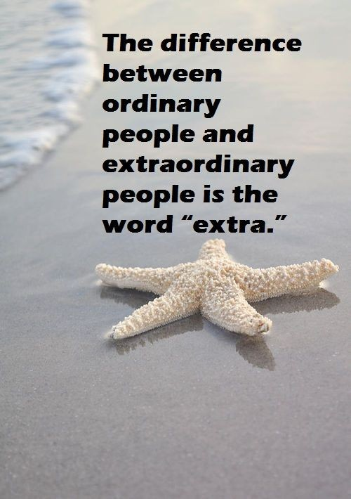 Be Extraordinary Quote 4 Picture Quote #1