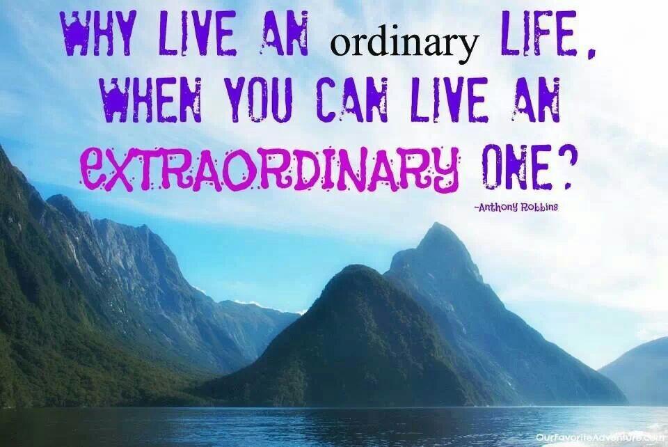 Extraordinary Quote 3 Picture Quote #1