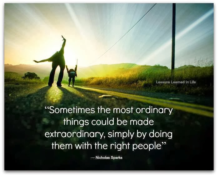 Extraordinary Quote About Life 2 Picture Quote #1