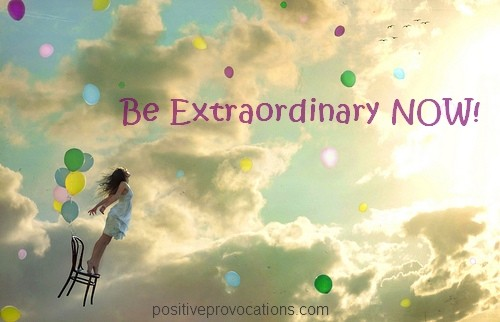 Dare To Be Extraordinary Quote 1 Picture Quote #1