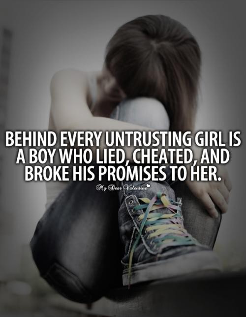 Being Lied To Quote 6 Picture Quote #1