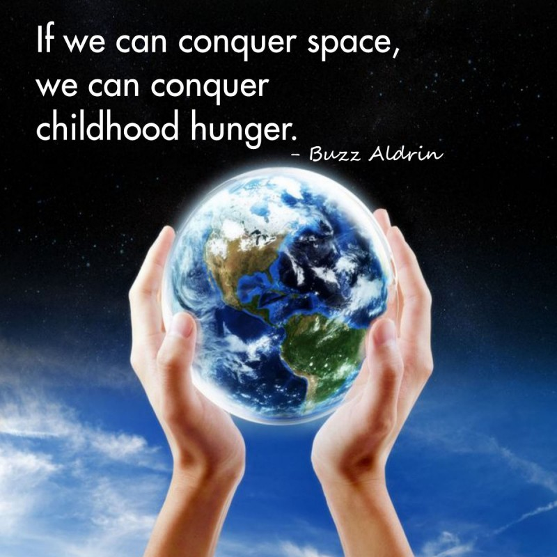 Childhood Hunger Quote 1 Picture Quote #1