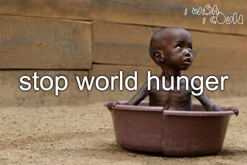 world problems famine