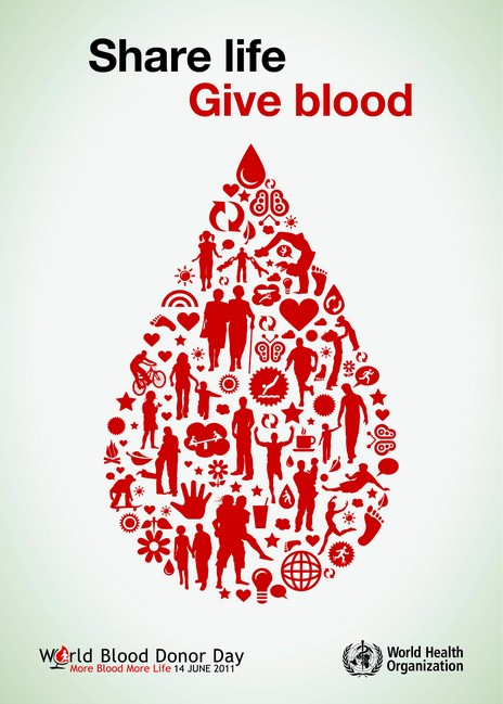 Giving Blood Quote 1 Picture Quote #1