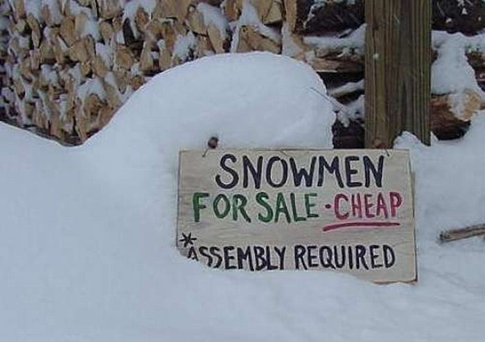 Funny Snow Quote | Quote Number 689921 | Picture Quotes