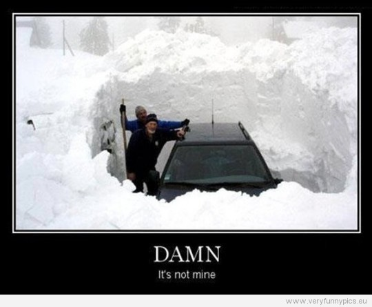 Funny Snow Quote | Quote Number 689928 | Picture Quotes