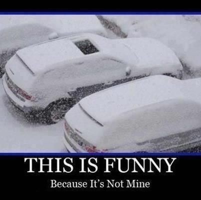 Funny Snow Quote | Quote Number 689934 | Picture Quotes