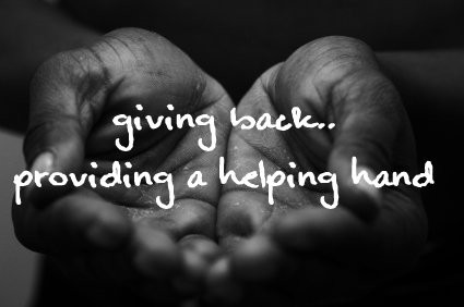 Giving Back Quote 1 Picture Quote #1