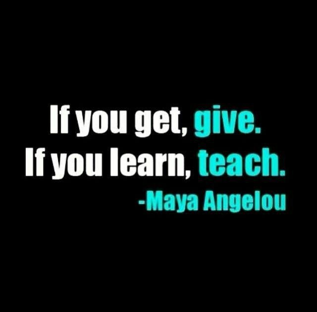 Sayings And Quote About Giving Back 2 Picture Quote #1
