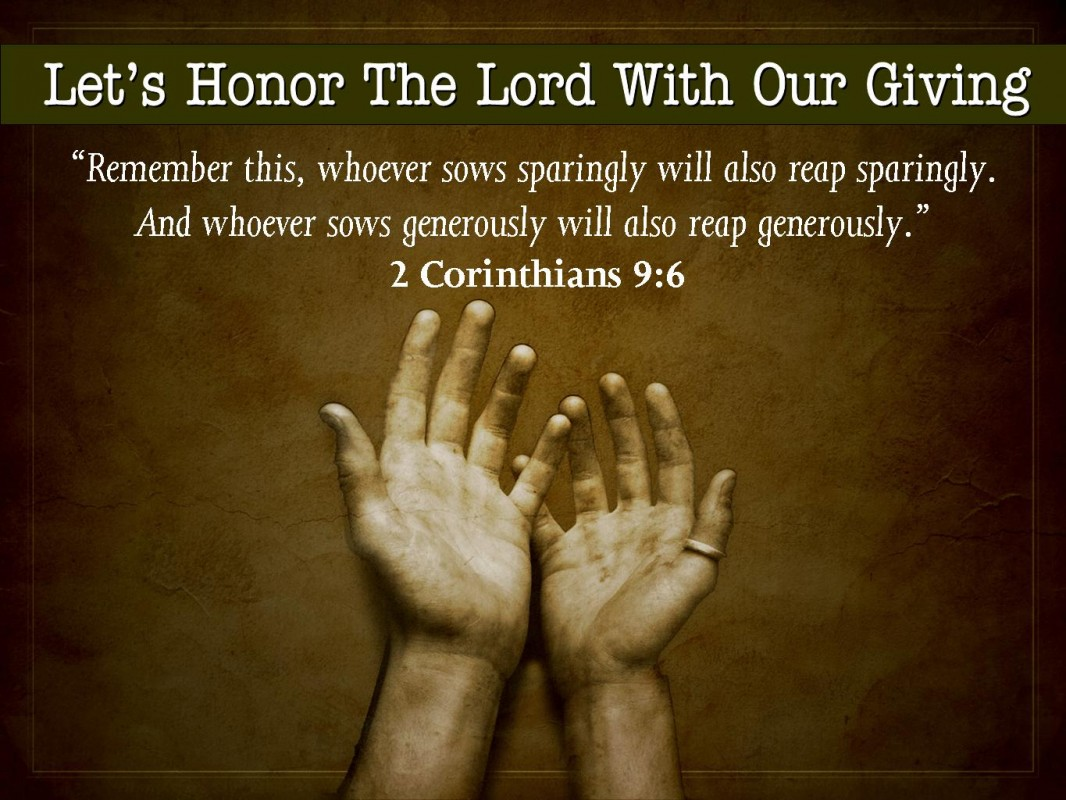 Quotes About Giving Back Bible Quote On Giving Back  Quote Number 689984  Picture Quotes