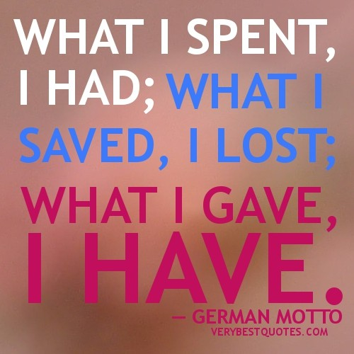 Giving Back Quote 4 Picture Quote #1