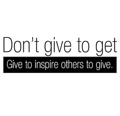 Giving Back Quote 5 Picture Quote #1
